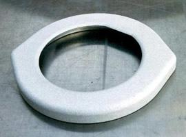 半導体向クランプリング(アルミニウム溶射)
