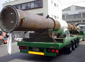 大型熱交換器(耐熱塗装)
